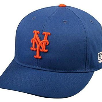 New York Mets Youth MLB Licensed Replica Caps / All 30 Teams, Official Major League Baseball Hat of Youth Little League and Youth Teams