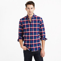 VINTAGE OXFORD SHIRT IN HAVEN BLUE PLAID