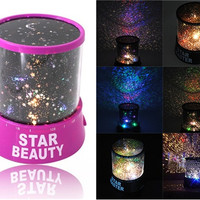 Mini Cute Star Lover Projector