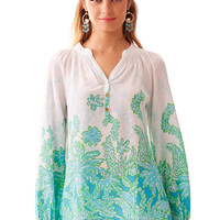 Lilly Pulitzer Elsa Top - Palm Party