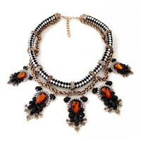 *DESI - Victorian Rope Choker Necklace