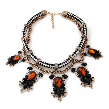 DESI - Victorian Rope Choker Necklace