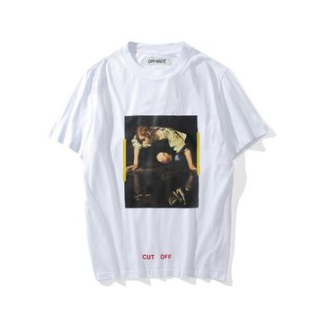 Off-White Narcissus, Caravaggio T-Shirt