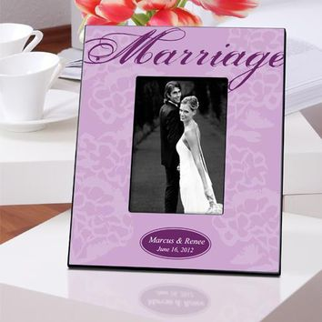 Couple's Frame - Marriage - Lavender
