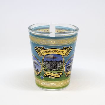 POTG USA Washington DC Spring Shot Glass (2 for 1)