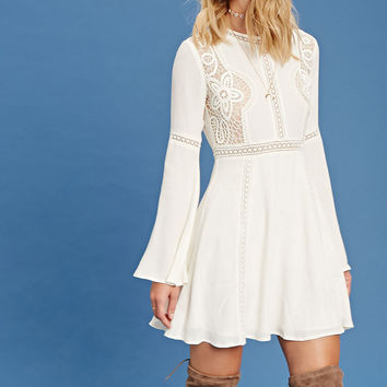 Contemporary Crochet Dress