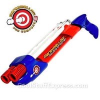 Marshmallow Double-Barreled Pump-Action Shooter