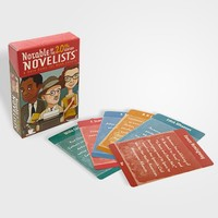 Notable Novelists Card Game