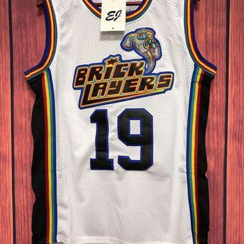 Bricklayers 1996 Rock N Jock Basketball Stitched Jersey