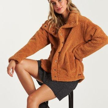 Billabong - Cozy Days Sherpa Jacket | Carmel