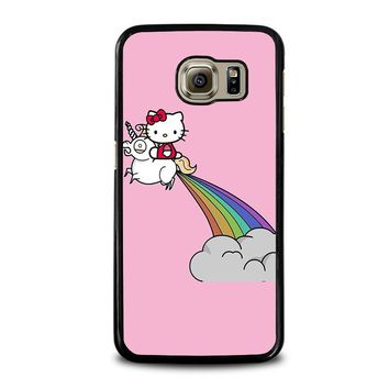 HELLO KITTY UNICORN Samsung Galaxy S6 Case Cover