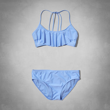 classic flounce two-piece swimsuit