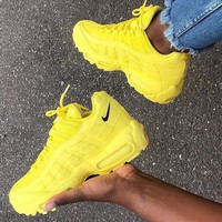 NIKE Fashionable Women Casual Sport Running Shoes Sneakers Yellow