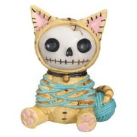 "Furry Bones - Furry Bones Cat - Cold Cast Resin - 2.5"" Height"