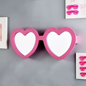 Heart Sunglasses Mirror