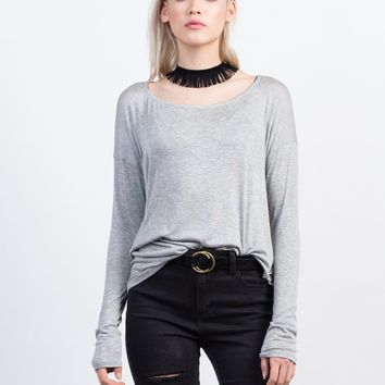 Dolman Long Sleeve Tee