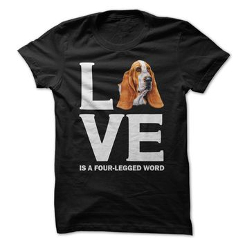 Basset Hound Love Is A Four-Legged Word