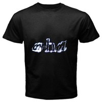 a-ha black t-shirt Size S, M, L, XL, 2XL, 3XL, 4XL, and 5XL