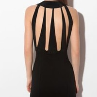 Motel Cutout-Back Fitted DressOnline Only!