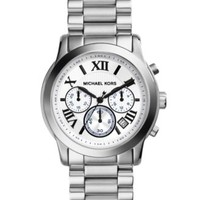 Michael Kors Women's Chronograph Cooper Stainless Steel Bracelet Watch 39mm MK5928 | macys.com