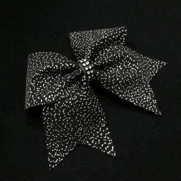 Cheer bow, black cheer bow, glitter cheer bow, red cheer bow, pink cheer bow, blue cheer bow, white cheer bow, cheerleading bow, cheerleader