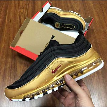 Nike Air Max 97 ir cushion sports leisure running shoes