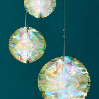 Iridescent Honeycomb Decor Set | Urban Outfitters
