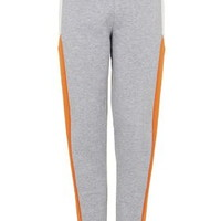 Colour Block Joggers - Orange