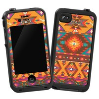 "Aztec Tribal ""Protective Decal Skin"" for LifeProof iPhone 4/4s Case"