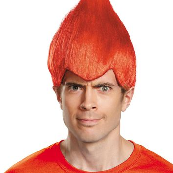 Wacky Wig Red Adult Costume