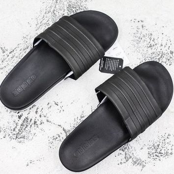 dceb31ab621f Adidas Men Sandals Adilette Slides Cloudfoam Plus Mono Beach Sho
