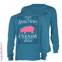 Simply Southern Small Town Country Chick - Blue