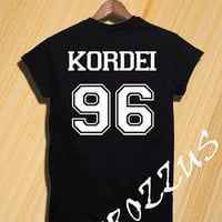 Normani Kordei Shirt Fifth Harmony Shirt Tshirt T-shirt Tee Shirt Black and Grey Unisex Size - NK63