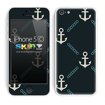Multiples Anchor V1 Skin For The iPhone 5c