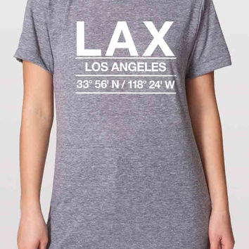 LAX Airport Shirt