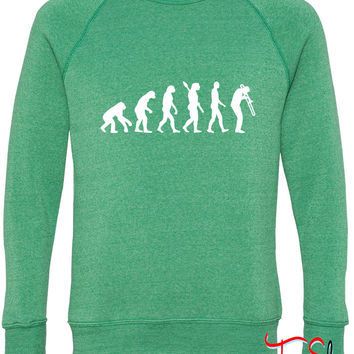 Evolution Trombone 6 fleece crewneck sweatshirt