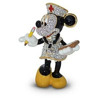 Jeweled Nurse Minnie Mouse Figurine by Arribas | Disney Store