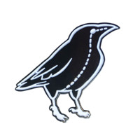 Raven Stitch - Soft Enamel Pin