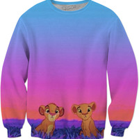 Super Tumblr Lion King Sweatshirt!