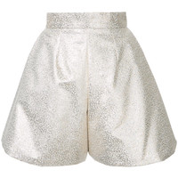 Bambah Glitter Pleated Culottes - Farfetch