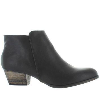 Chelsea Crew Dealer   Black Bootie
