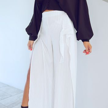 Day & Night Pants: White/Black
