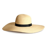 H&M - Straw Hat - B