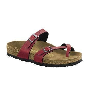 Birkenstock Classic Mayari Pull Up Regular Fit Bordeaux - Beauty Ticks
