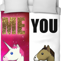Me , You Duvet Cover