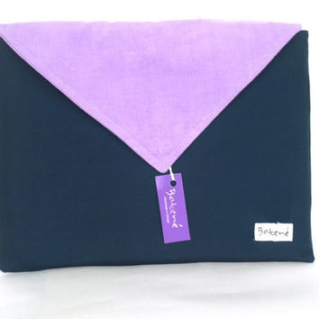 Wacom Tablet Case, Intuos5 Graphic Tablet Cover, Wacom Intuos Tablet Sleeve, Lilac Corduroy print