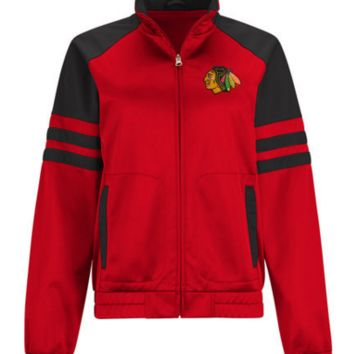 Women's Chicago Blackhawks Baseline Track Jacket