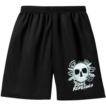 A Day To Remember Men's  Gym Shorts Black Rockabilia