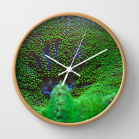 Underwater Coral Reef Wall Clock by Karl Wilson Photography