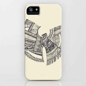 Wu-Tang Zentangle iPhone & iPod Case by Fernando Sanchez